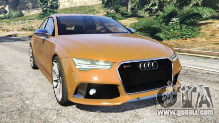 Audi RS7 2016 for GTA 5