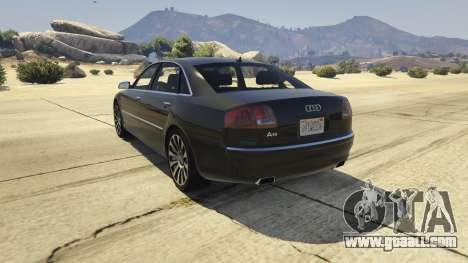 Audi A8 v1.2 for GTA 5