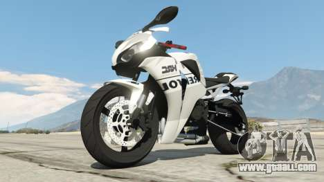GTA 5 Honda CBR1000RR [Repsol White] right side view