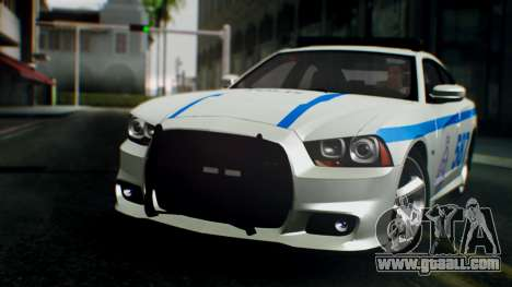 Dodge Charger SRT8 2015 Police Malaysia for GTA San Andreas