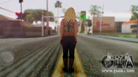 WWE Kaitlyn for GTA San Andreas third screenshot