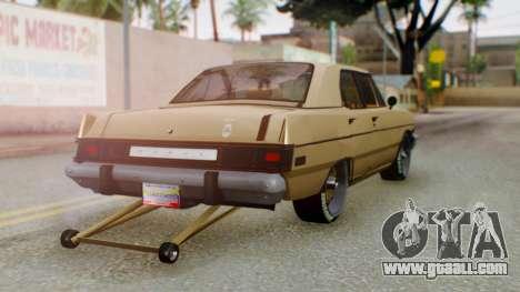 Dodge Dart 1975 Estilo Drag for GTA San Andreas left view