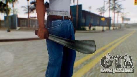 Vice City Machete for GTA San Andreas third screenshot