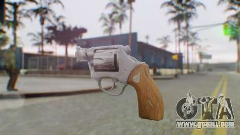 Charter Arms Undercover Revolver for GTA San Andreas second screenshot