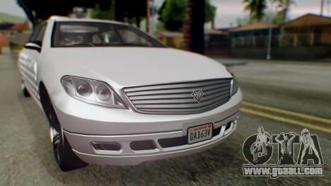 GTA 5 Benefactor Stretch E Turreted IVF for GTA San Andreas back view