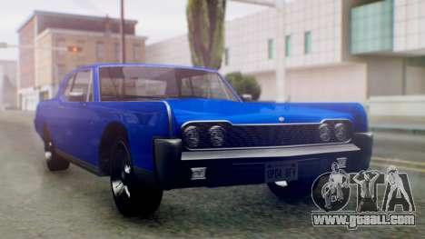 GTA 5 Vapid Chino Tunable IVF for GTA San Andreas