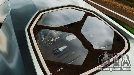 Lamborghini Asterion LP900 for GTA 4 back view