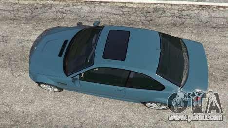 GTA 5 BMW M3 (E46) 2005 back view