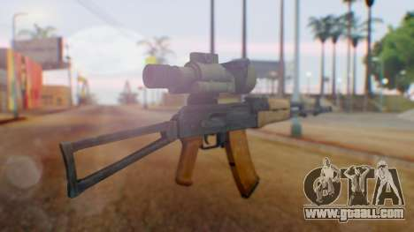 Arma OA AK-47 Night Scope for GTA San Andreas second screenshot
