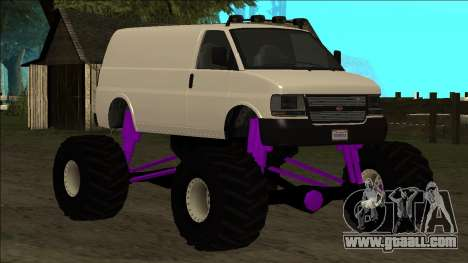 GTA 5 Vapid Speedo Monster Truck for GTA San Andreas wheels