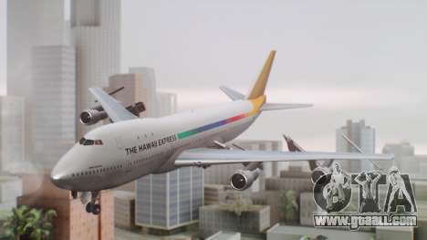 Boeing 747-100 The Hawaii Express Jason Everest for GTA San Andreas
