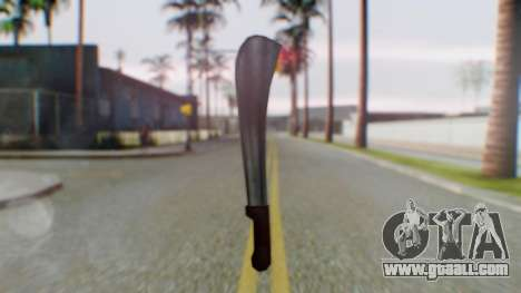 Vice City Machete for GTA San Andreas second screenshot