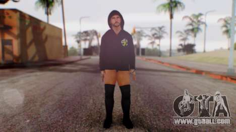 CM Punk 1 for GTA San Andreas second screenshot