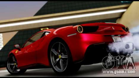 Ferrari 488 GTB 2016 for GTA San Andreas left view