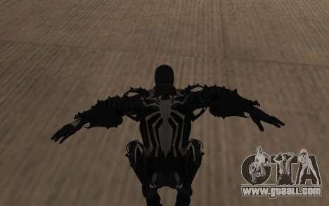 Agent Venom by Robinosuke for GTA San Andreas fifth screenshot