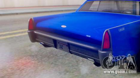 GTA 5 Vapid Chino Tunable IVF for GTA San Andreas side view