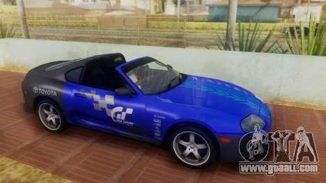 Toyota Supra TRD 1998 for GTA San Andreas inner view