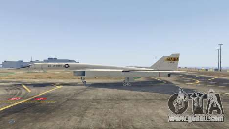 GTA 5 XB-70 Valkyrie third screenshot