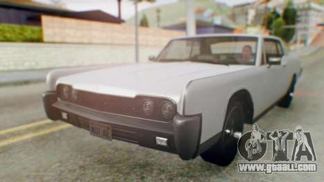 GTA 5 Vapid Chino Tunable IVF for GTA San Andreas