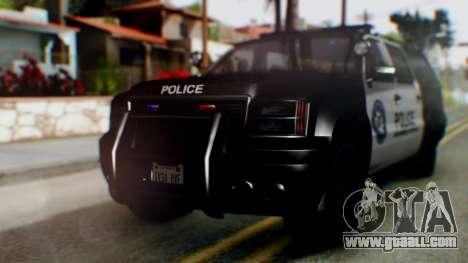 GTA 5 Police Ranger for GTA San Andreas