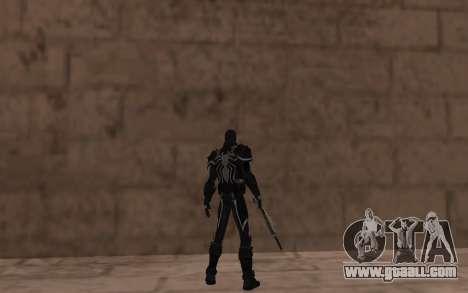 Agent Venom by Robinosuke for GTA San Andreas forth screenshot