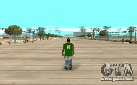 Fam3 Eli Ball for GTA San Andreas third screenshot