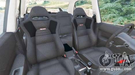 GTA 5 Mitsubishi Lancer Evolution VIII MR right side view