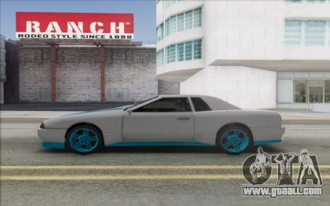 Elegy Drift King GT-1 [2.0] for GTA San Andreas right view