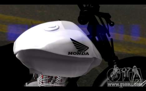 Honda CG Titan 150 Stunt Imitacion for GTA San Andreas right view