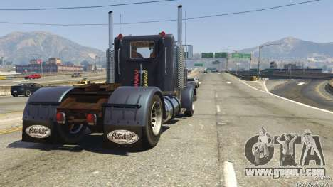 GTA 5 Peterbilt 289 back view