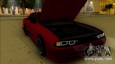 Elegy HellCat for GTA San Andreas bottom view