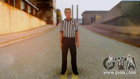 WWE Arbitro for GTA San Andreas second screenshot