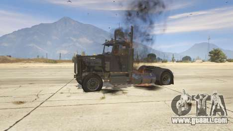 GTA 5 Peterbilt 289 front right side view