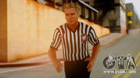 WWE Arbitro for GTA San Andreas