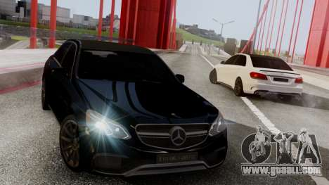 Mercedes-Benz E63 AMG PML Edition for GTA San Andreas left view