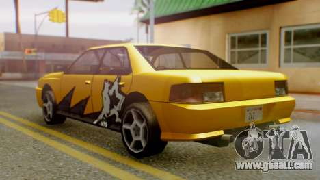 Sultan Винил из Need For Speed ProStreet for GTA San Andreas left view