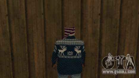 Ballas New Year Skin for GTA San Andreas third screenshot