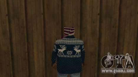 Ballas New Year Skin for GTA San Andreas third screenshot