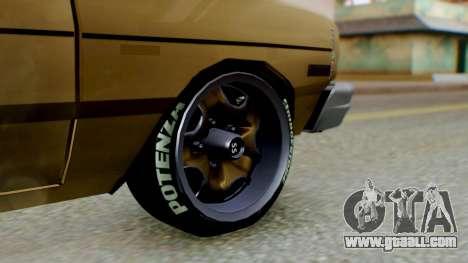 Dodge Dart 1975 Estilo Drag for GTA San Andreas back left view