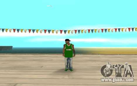 Fam3 Eli Ball for GTA San Andreas second screenshot