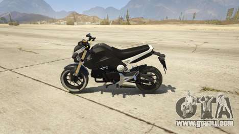 GTA 5 Honda MSX 125 left side view