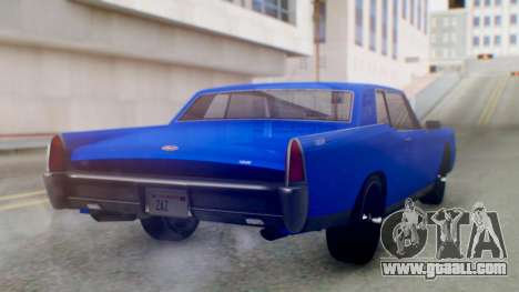 GTA 5 Vapid Chino Tunable IVF for GTA San Andreas left view