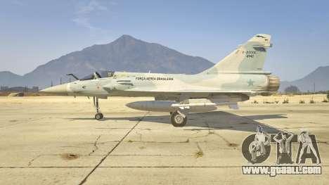 GTA 5 Dassault Mirage 2000-C FAB second screenshot