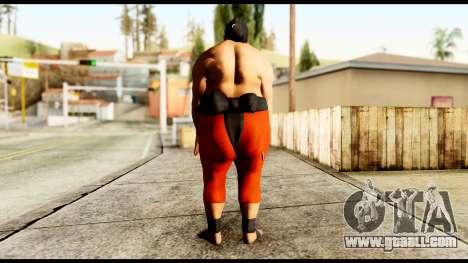 Yokozuna for GTA San Andreas third screenshot