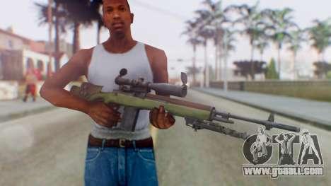 ARMA2 M14 Dmr Sniper for GTA San Andreas third screenshot