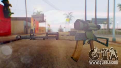 Arma OA AK-47 Night Scope for GTA San Andreas