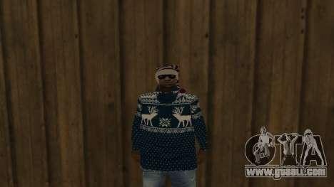 Ballas New Year Skin for GTA San Andreas second screenshot