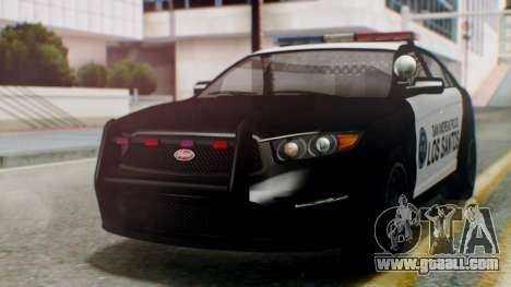 GTA 5 Police LS for GTA San Andreas