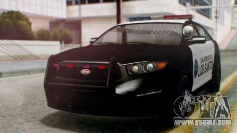 GTA 5 Police LS for GTA San Andreas
