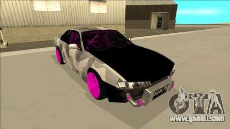 Nissan Silvia S14 Drift for GTA San Andreas engine